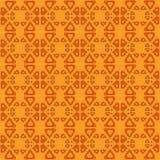 Modèle sans couture ethnique d'art tribal Gens répétant la texture de fond Impression géométrique Conception de tissu illustration libre de droits