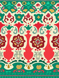 Modèle sans couture ethnique de rayure Illustration de vecteur pour votre conception mignonne Frontières et cadres Photos stock