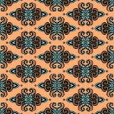 Modèle sans couture ethnique tribal Images stock