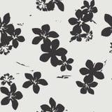 Modèle sans couture exotique floral tropical de vecteur Image stock