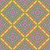 Modèle sans couture fait à partir du mandala abstrait illustration de vecteur