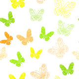 Modèle sans couture fait de papillons illustration de vecteur