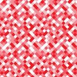 Modèle sans couture fait de places colorées aux nuances du rose, rouges Image stock