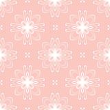 Modèle sans couture fin floral de vecteur illustration libre de droits