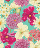 Modèle sans couture floral Photographie stock libre de droits