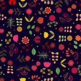Modèle sans couture floral Photo libre de droits