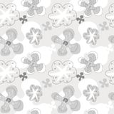 Modèle sans couture floral abstrait Photo libre de droits