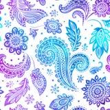 Modèle sans couture floral de belle aquarelle Images stock
