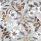 Modèle sans couture floral de fleur Photo libre de droits