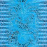 Modèle sans couture floral de vecteur de Paisley de style grec grunge Photo libre de droits