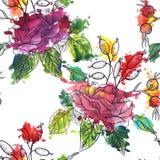Modèle sans couture floral de vecteur de vintage Image libre de droits