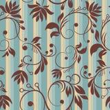 Modèle sans couture floral de vintage Images libres de droits