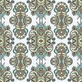 Modèle sans couture floral de vintage de la géométrie Photos stock
