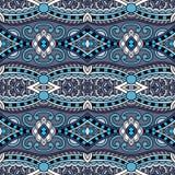 Modèle sans couture floral de vintage de la géométrie Photos libres de droits