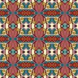Modèle sans couture floral de vintage de la géométrie Photo libre de droits