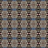 Modèle sans couture floral de vintage de la géométrie Photographie stock libre de droits