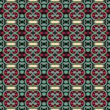 Modèle sans couture floral de vintage de la géométrie Photo stock