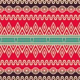 Modèle sans couture floral ethnique Photo libre de droits