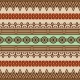 Modèle sans couture floral ethnique Images libres de droits