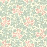 Modèle sans couture de vecteur floral Photo stock
