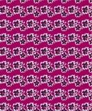 Modèle sans couture floral pourpre pour des copies de tissu illustration stock