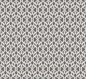 Modèle sans couture forgé blanc sur le fond gris illustration libre de droits