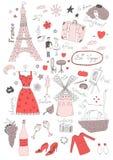 Modèle sans couture français Photographie stock