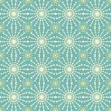 Modèle sans couture géométrique abstrait avec le cercle et la ligne Images libres de droits