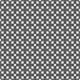 Modèle sans couture géométrique abstrait en noir et blanc, vecteur illustration de vecteur