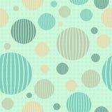 Modèle sans couture géométrique avec des cercles Photos libres de droits
