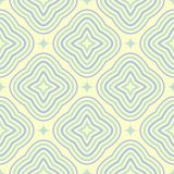 Modèle sans couture géométrique coloré par beige Pale Background illustration de vecteur