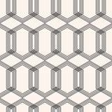 Modèle sans couture géométrique d'art déco Fond de vecteur illustration libre de droits