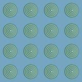 Modèle sans couture géométrique dans le rétro style 1 Images libres de droits