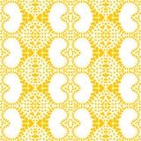 Modèle sans couture géométrique de coeurs de sable Photo libre de droits