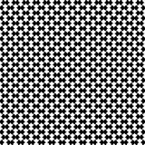 Modèle sans couture géométrique de dominos illustration stock