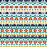 Modèle sans couture géométrique de mosaïque orientale - dirigez l'illustration de papier peint Photographie stock libre de droits
