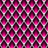 Modèle sans couture géométrique de tuile de résumé avec les pastilles roses avec des angles aigus illustration libre de droits