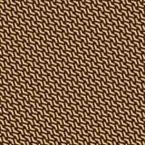 Modèle sans couture géométrique de vecteur Photos stock
