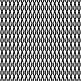 Modèle sans couture géométrique de vintage abstrait images stock