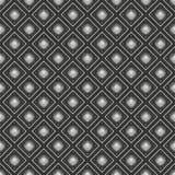Modèle sans couture géométrique métallique de fond 3d rendent l'illust illustration de vecteur