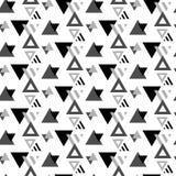 Modèle sans couture géométrique moderne de vecteur TEXTURE DE CONCEPTION DE COUVERTURE CONTOUR ET FORME RAYÉE Photos libres de droits