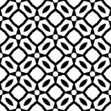 Modèle sans couture GÉOMÉTRIQUE noir à l'arrière-plan blanc Photographie stock