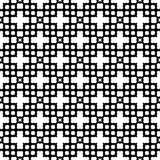 Modèle sans couture GÉOMÉTRIQUE noir à l'arrière-plan blanc illustration libre de droits