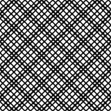 Modèle sans couture GÉOMÉTRIQUE noir à l'arrière-plan blanc photos libres de droits