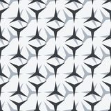 Modèle sans couture géométrique simple Photographie stock libre de droits