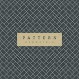 Modèle sans couture géométrique sur l'ardoise Grey Background illustration libre de droits
