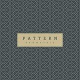 Modèle sans couture géométrique sur l'ardoise Grey Background illustration de vecteur