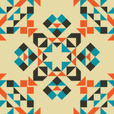 Modèle sans couture géométrique tribal ethnique Image stock