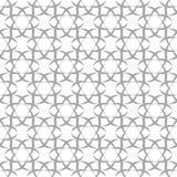Modèle sans couture gris et blanc Image libre de droits