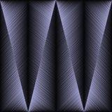 Modèle sans couture grunge géométrique du style 3d de broderie Vecteur ab Illustration Libre de Droits